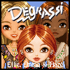Degrassi Style Dressup - Ellie, Emma & Hazel