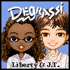 Degrassi Style Dressup - Liberty & J.T.