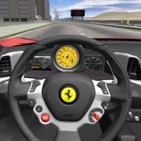 3D Ferrari F458 - Driving Games