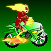 Ben 10 Alien Motorbike - Driving Games