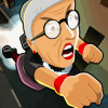 Angry Gran Toss - Action Games