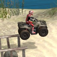 ATV Games ATV Trials Beach