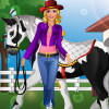Barbie Goes Horse Riding - Dress Up Game