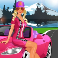Barbie Goes Racing