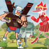 Battle of the Behemoths: Regular Show - Fighting Games