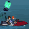 Ben 10: Jet Ski Dash - Driving Games