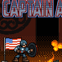 Captain America: Shield Of Justice - Arcade Games