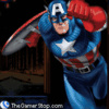 Captain America Red Skull and Crossbones - Fighting Games