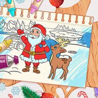 Coloring Games Color Me Christmas