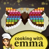 Cooking Games Butterfly Chocolate Cake