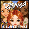 Degrassi Style Dressup - Ellie, Emma & Hazel - Games for Girls