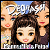 Degrassi Style Dressup - Manny, Mia & Paige - Games for Girls