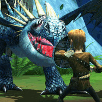play DreamWorks Dragons: Wild Skies now