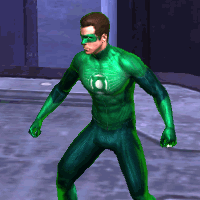 play Green Lantern Emerald Adventures now