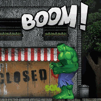 Hulk Bad Attitude - Action Games
