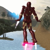 Iron Man Upgraded - Action Games