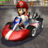 play Mario Cart 3D now