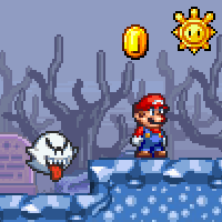 Super Mario Star Scramble 2 Ghost Island - Mario Game