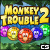Monkey Trouble 2 - Match 3 Game