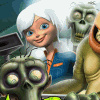 Monsters Vs Aliens: Mean, Clean, Zombie...Brains! - Action Games