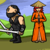 Ninja and Blind Girl 2 - Ninja Game