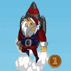 Rocket Santa 2 - Action Games