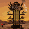 Steampunk Tower - Strategy Games