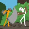 Swordsman Steve: The Polytizans - Fighting Games