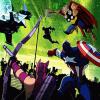 The Avengers vs Gamma Monsters - DisneyXD Game