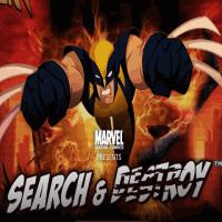 Wolverine Search and Destroy - Action Games