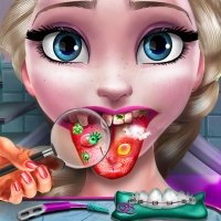 Doctor Games Ice Queen Tongue Dcotor