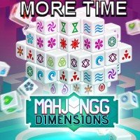 Mahjongg Dimensions More Time 15 Minutes