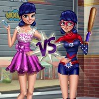 Princess vs Superhero