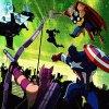 The Avengers vs Gamma Monsters