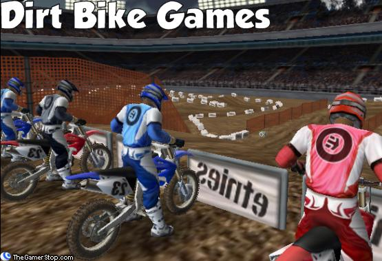 free online dirt bike games for kids