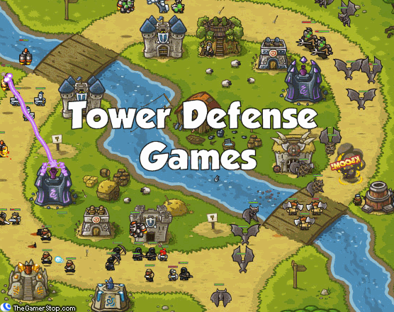 online games defense tower