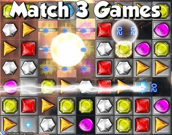 Match 3 Games Online