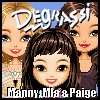 Degrassi Style Dressup - Manny, Mia & Paige